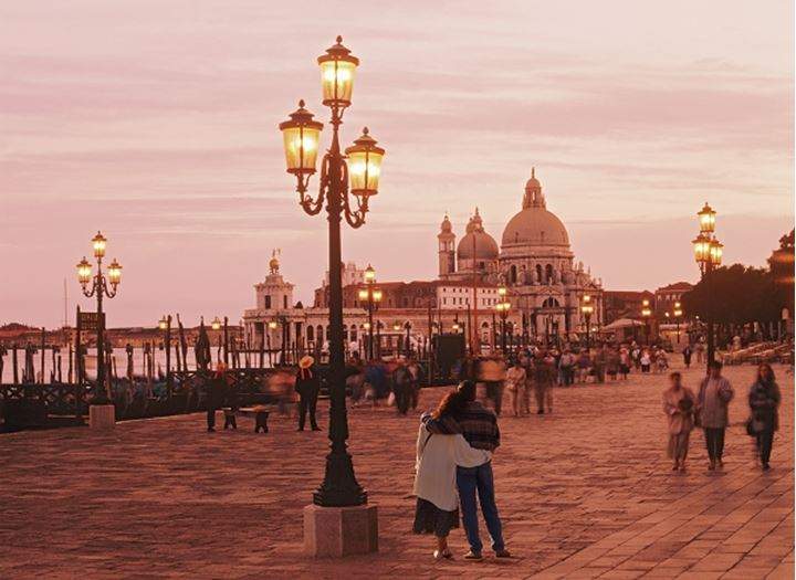 People roaming in Piazza San Marco, Venice, Italy
