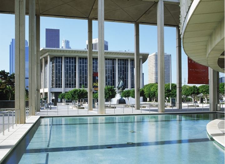Dorothy Chandler Pavilion in downtown Los Angeles California