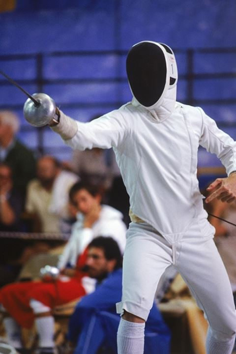 Olympic epee fencing competition