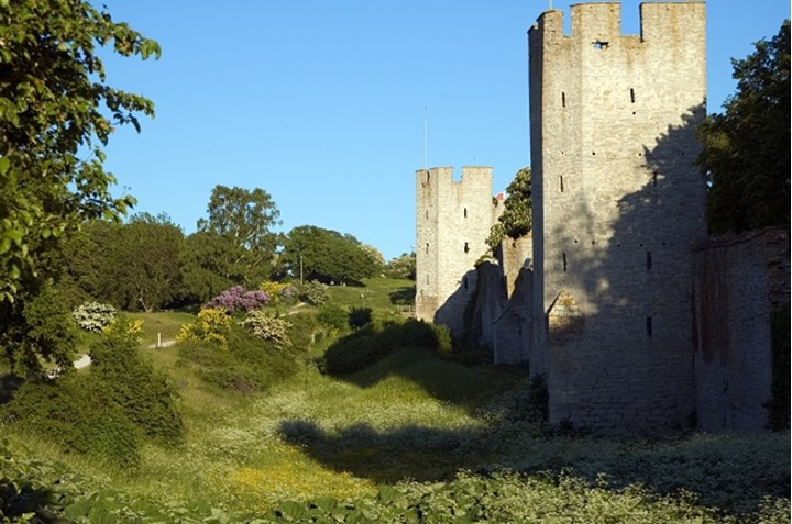 The citywall of Visby, Gotland