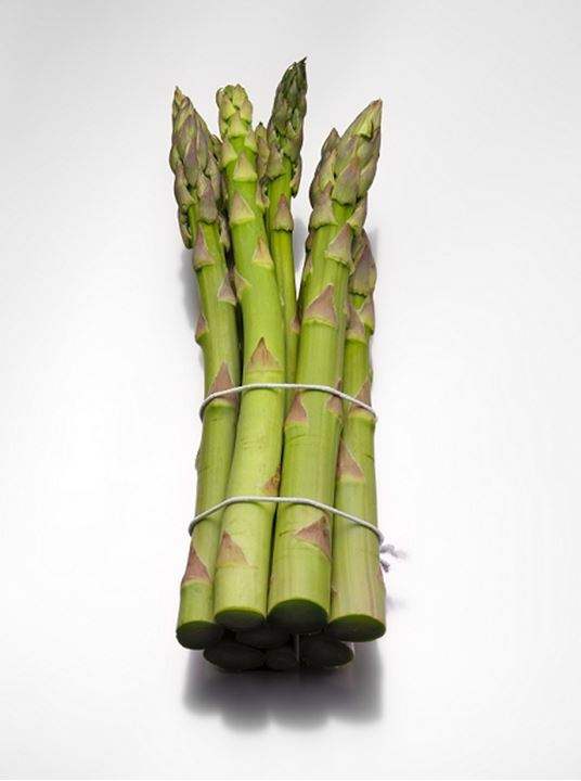 Close-up of a bunch of asparagus