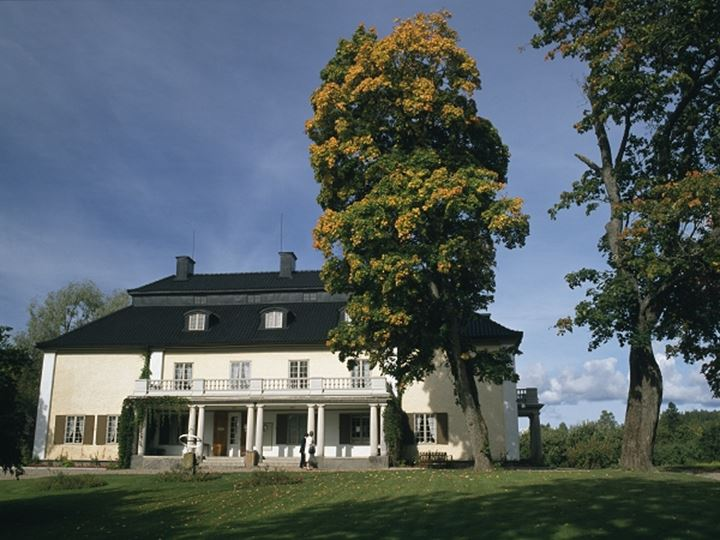 Mårbacka Mansion in Varmland, Sweden. Author Selma Lagerlöf was born and raised there