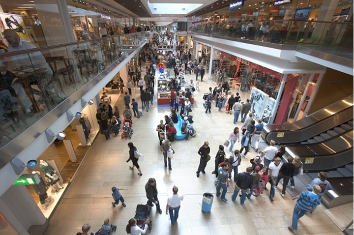 SWEDEN STOCKHOLM SHOPPING MALL GALLERIAN