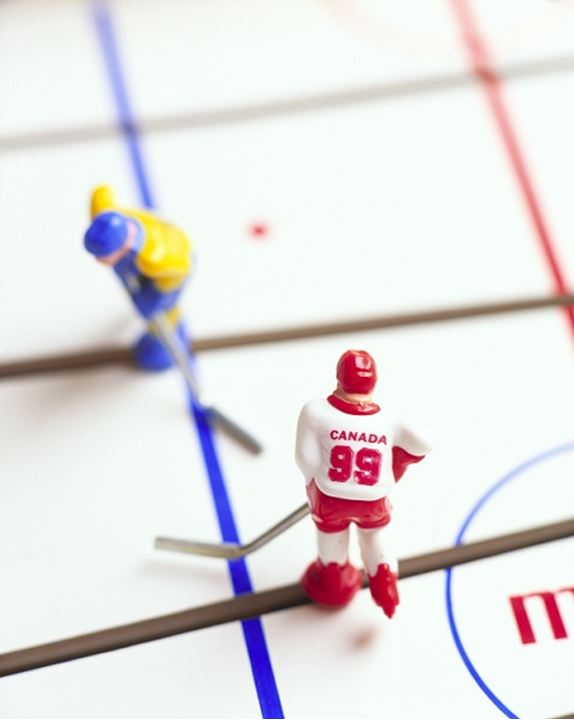 Ice hocky board game