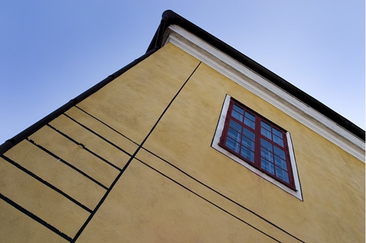 Low angle view of a building, Rauma, Finland