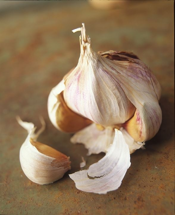 Close-up of garlic cloves