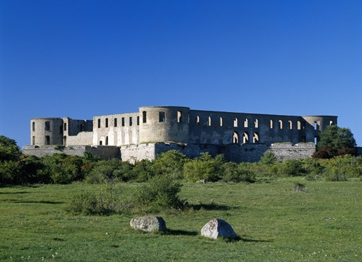 Ruin of Borgholm castle, Oland