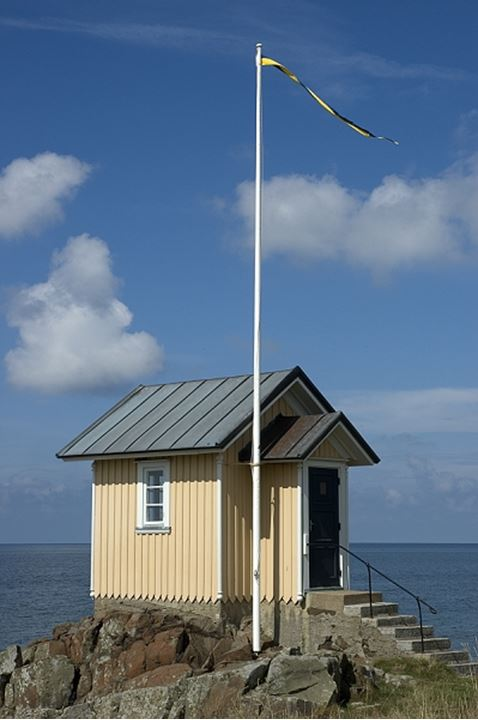 Small house by the sea