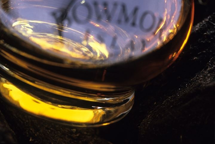 Close up detail of a wine glass