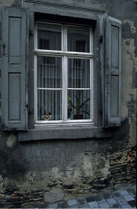 Windows with shutters in Italy, Europe