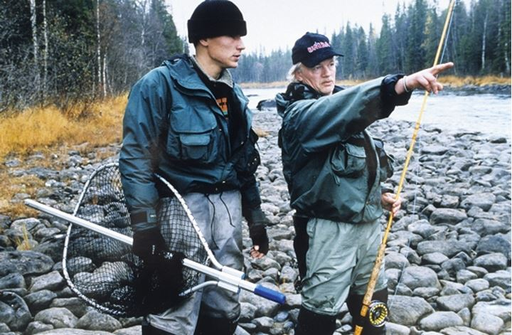 Fisher men talking with each other