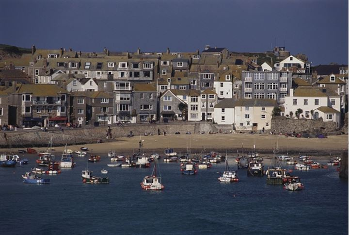 Harbour/port, St Ives, Cornwall, England