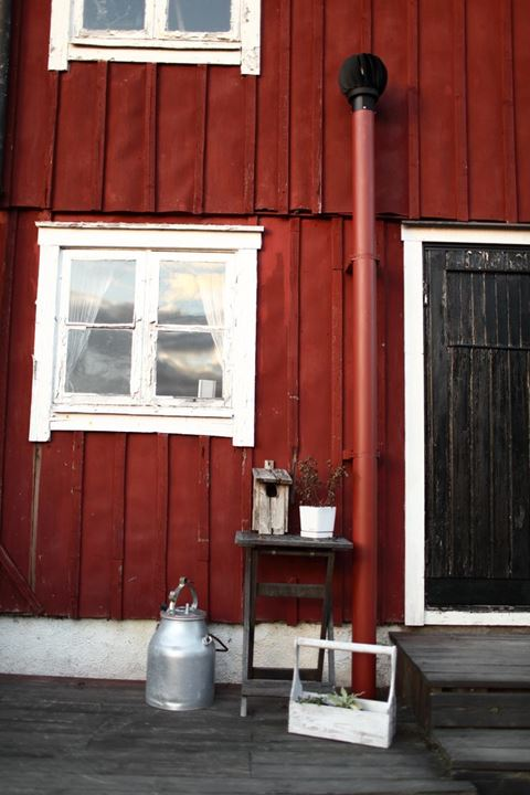 Old farm house. Sweden.