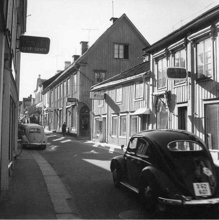 The Swedish city NorrtŠlje in the 1950«s.