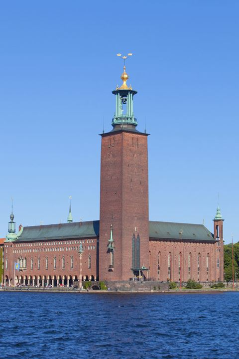 Sweden, Stockholm - The Town Hall ( Stadshuset ).