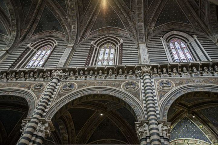 The Cathedral of Siena, Italy