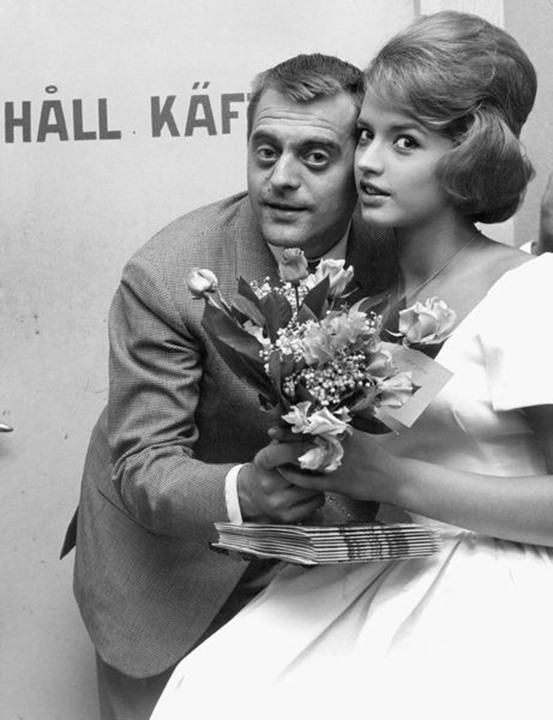 Stikkan Anderson and Lill-Babs in 1959.