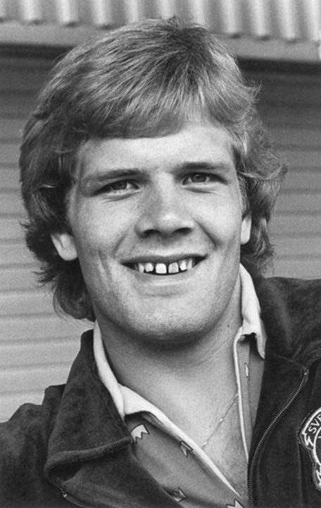 Frank Andersson, Swedish wrestler, during the 1976 Olympic Games in Montreal, Canada.