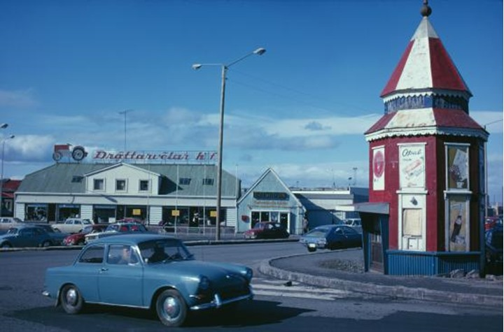Reykjavik, Iceland in the 1970s