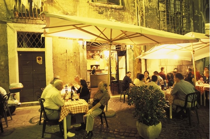 ITALY ROME ROME CAFES